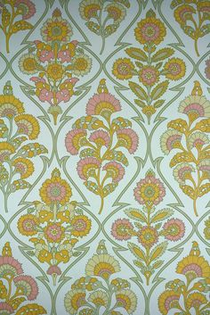 Modern Baroque Wallpaper * Vintage Wallpapers from the to * Dead Stock Wallpaper * Antique Wallpapers * Vintage Wallpapers Online Shop Belgium Antique Wallpaper, Vinyl Wallpaper, Wallpaper Online, Pattern Wallpaper, Vintage Wallpapers, Kitchen Wallpaper, Motif Baroque, Modern Baroque, Flower Boarders