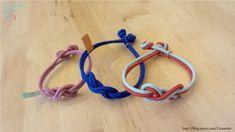 [매듭팔찌만들기]-눈감고도 만들수 있답니다. ㅎㅎ 아..이웃님들 잘들 지내셨나요..?너무 오랫만이여요..블... Knots Guide, Paracord, Friendship Bracelets, Diy Jewelry, Thrifting, Diy And Crafts, Embroidery, Beads, Leather