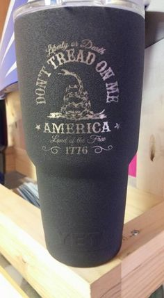 Houston's premiere service offering custom engraving on Tumblers, Firearms, Parts, Knives, Glass Carving / Etching and Powder Coated Custom Metal Wall Art. Diy Tumblers, Custom Tumblers, Decals For Yeti Cups, Yeti Decals, Glitter Tumblr, Thermos, Rtic Cups, Tumblr Cup, Custom Yeti