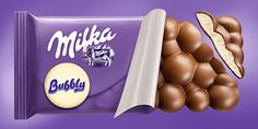 Milka Chocolate on Behance