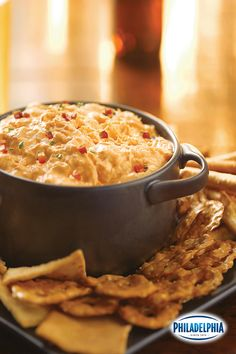 No one wants to spend the day slaving away in the kitchen. With just three easy steps and ten minutes of prep, this Buffalo Chicken Dip is your go-to party accessory. Dip Recipes, Appetizer Recipes, Crockpot Recipes, Great Recipes, Cooking Recipes, Favorite Recipes, Recipies, Cheesecake Recipes, Good Food