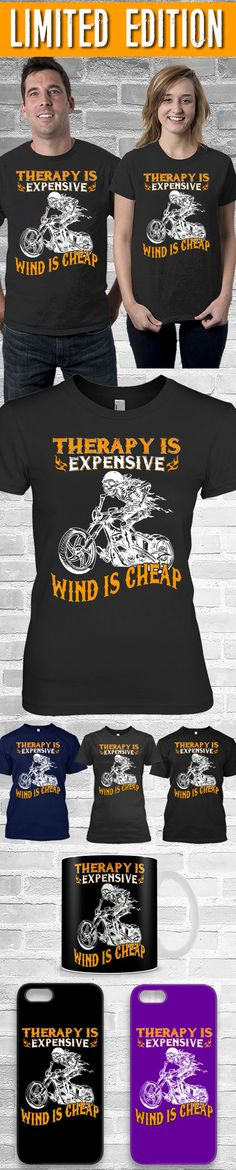 Therapy Is Expensive Shirt! Click The Image To Buy It Now or Tag Someone You Want To Buy This For.  #motorcycle
