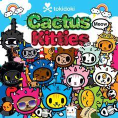 tokidoki: tokidoki Cactus Kitties have just prowled in! | Milled