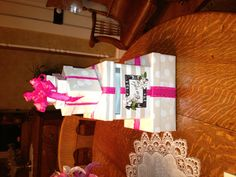 Bridal Shower Gift For Future Sister In Law : Shower/Wedding card box!! I made this for my future sister-in-law ...