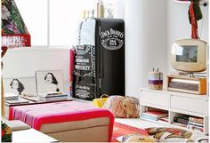 Geladeiras retrôs, coloridas, divertidas e adesivadas! - Decor Salteado - Blog de Decoração e Arquitetura