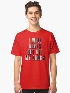 T-shirt classique 'Will Work For Fruit Snacks' par Kevin Blondel Get Off Me, Got Off, Get Free Stuff, Stuff To Buy, Pink Floyd T Shirt, Tshirt Colors, Female Models, Neck T Shirt, Chiffon Tops
