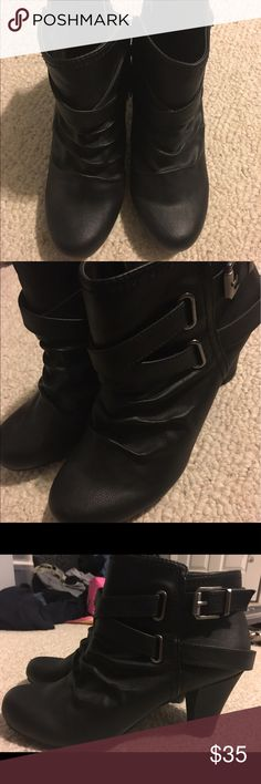 Boot heels Never worn Fergie Shoes Heeled Boots