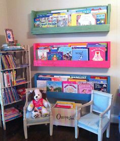 Library for kids. Start them off right! :P