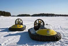 Marlin II Arctic ja Coastal Pro Arctic -ilmatyynyalukset  www.rafhovercraft.fi