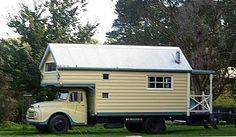 fine truck for a house truck - YES! this would be a fabulous studio in my meadow at the farm!