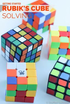 Tips to get you started on how to solve the rubik's cube - a great screen free activity for kids, especially for family travel vacations!