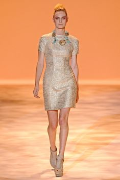 Christian Siriano Spring 2011 Ready-to-Wear Fashion Show - Chloe Callahan