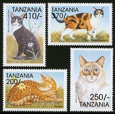 Sellos de Tanzania