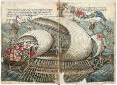 1487 Venetian Galera-Konrad von Grünenberg - Beschreibung der Reise von Konstanz nach Jerusalem © 2010 Badische Landesbibliothek