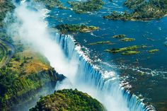 Victoria Falls is easily considered one of the greatest attractions in Africa and one of the most spectacular and awe inspiring waterfalls found anywhere in the world.
