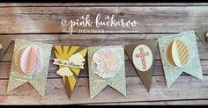Pink Buckaroo Designs: Easter Banner