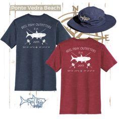 64994aac Reel Fishy Outfitters Tarpon & Rods T-Shirt | Tarpon Fishing Shirt | Mens  Fishing