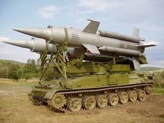 2k11 Krug SA-4 Ganef Self-Propelled Surface-to-Air Missile System (Russia)