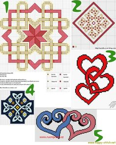 Celtic free cross stitch patterns