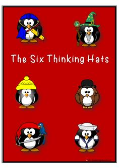 THINKING | An explanation of De Bono's Six Thinking Hats and the ways these hats…