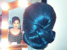 Makeup and hair do by adhe eragon