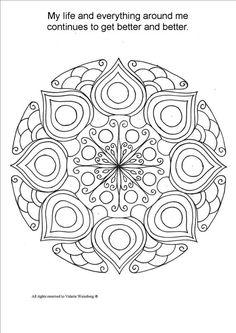 ON SALE Mandala Coloring Book