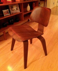 1946 Eames for Evans DCW Chair Earliest label by Dead50sModern, $995.00