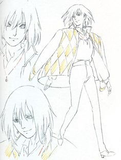 Living Lines Library: ハウルの動く城 / Howl's Moving Castle (2004) - Character Design