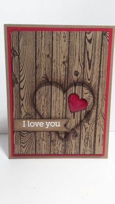 Stampin' up hardwood