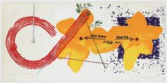 Tampa - New York 1188 by James Rosenquist