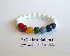7 Chakra bracelet appropriate both for women and men Feel the comforting…