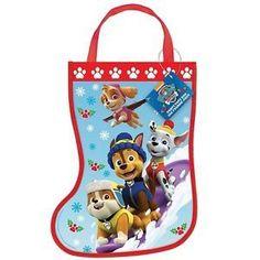 Paw Patrol Christmas Stocking Tote Bag