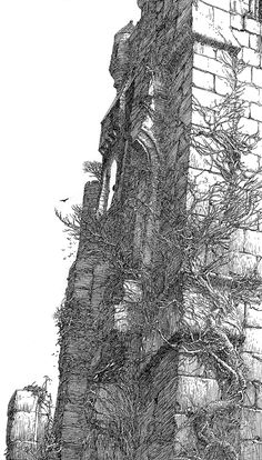 Alan Lee Castle Dracula (off 'Castles')