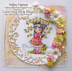Helen's Crafty Shed: Little Blossom