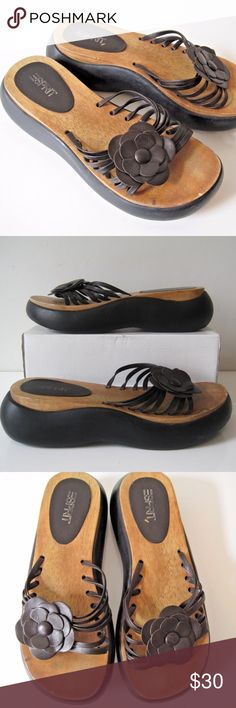 "ESPRIT Shoes Sz 9 Womens Platform Sandals Strappy ESPIRIT Sandals Women's   Size: approx. 9 - has no size tag - please check the measurements: Inside Sole - 10"" Outside Sole - 10.5""  Condition: very good pre-owned  SH146zFEb ESPRIT Shoes Sandals"