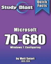 A Microsoft Certification predominantly acts as a stepping stone to utter your level of knowledge in the technical front to an employer. It gives a better career scope and could even help you in reaching the pinnacle in your career http://free70-680studyguide.tumblr.com/