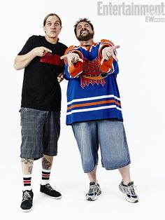 Jay Mewes and Kevin Smith