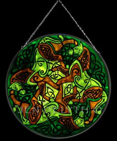 EPONA Stained Glass Celtic Art by Welsh artist Jen Delyth - Official Home Site - Celtic Tree of Life and Celtic Art Studio Catalog. Author of Celtic Mandala Calendar and Keltic Designs Textiles. Original Celtic art, symbols and meanings.