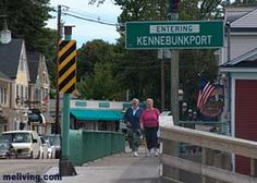 Kennebunkport - very near to my favorite place to eat lobster