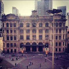 Central Post Office building (Edificio dos Correios)  Sao Paulo - Brazil