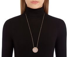 Celestial glamour for any occasion. Elegant and understated, this stunning rose gold-plated pendant has been inspired by the galaxy. The circular... Shop now