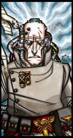 EMPEROR'S TAROT - The Psyker by Aerion-the-Faithful on deviantART