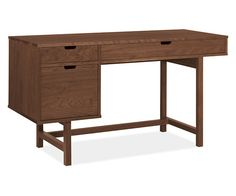 Room & Board - Ellis 56x22 Single File Drawer Desk