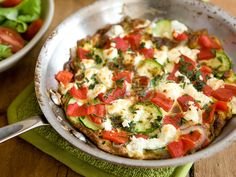 Goat Cheese and Zucchini Frittata. Serve this perfect frittata for one with a green salad on the side, if you like. Ingredients with an asterisk (*) are available in the  Whole Foods Market Family of Brands.