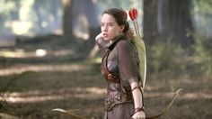 Anna Popplewell as Susan Pevensie - The Chronicles of Narnia Prince Caspian - Archer!
