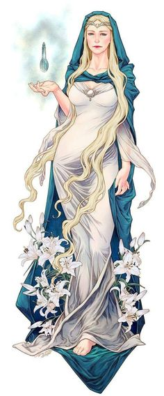 Lady Galadriel - Lord of the Rings Legolas, Thranduil, Gandalf, Lotr, Art Magique, J. R. R. Tolkien, Tolkien Books, O Hobbit, Forgotten Realms