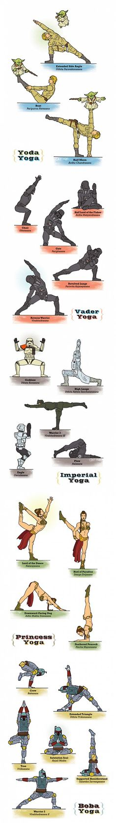 yoda yoga...    because Star Wars rocks :-)