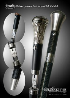 Welcome to the Official Web Site of Burger Sword Canes-Walking Sticks