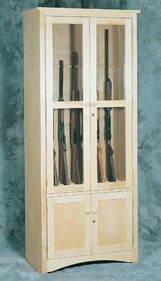 U-BILD Gun Cabinet Plan at Woodcraft.com