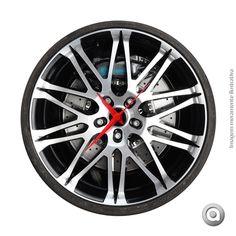 RELOGIO PAREDE - WHEEL CAR